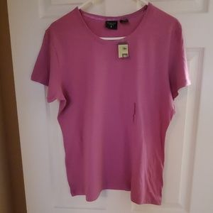 NWT  Large Short Sleeve Top